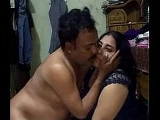 Indian milf fucking with husband friend