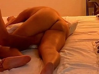 Sexy Indian MILF with big bouncing tits gets pussy fingered and fucked by neighbor to multiple loud screaming orgasms (FULL)
