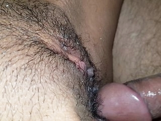 Closeup indian pussy being fucked