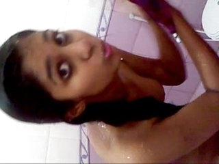 Hot Pakistani teen in the shower
