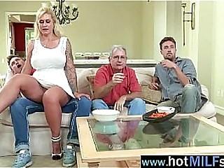 MILF seducing then sucking cock in the kitchen