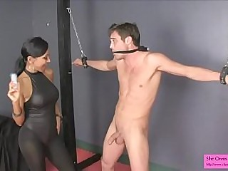 Sold Trapped and Nutted INDIAN BIG TITS BALLBUSTING FEMDOM