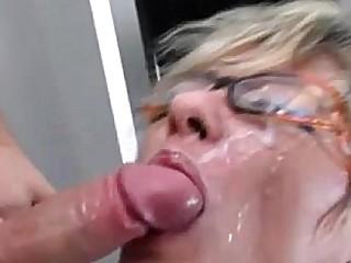 Hot amateur granny cumshots pt.1