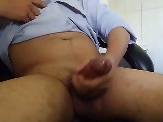 Desi Boy masturbating